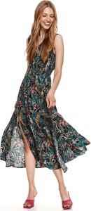 Sukienka Top Secret midi koszulowa