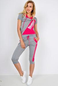 Spodnie sportowe Zoio w sportowym stylu z dresówki
