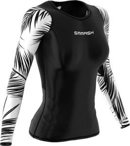 Czarna bluzka Smmash z nadrukiem