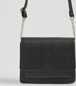 Czarna torebka Sinsay matowa średnia