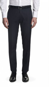 Granatowe spodnie Recman