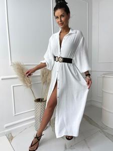 Sukienka Versada maxi z dekoltem w kształcie litery v
