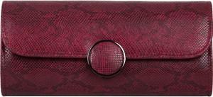 Czerwona torebka Bulaggi z tłoczeniem mała do ręki