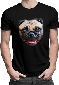 T-shirt Koszulkowy z nadrukiem z bawełny z krótkim rękawem