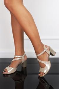 Sandały Casu ze skóry
