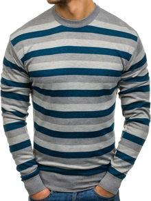 Sweter denley z poliamidu w street stylu