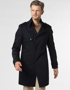 Niebieski płaszcz męski Drykorn