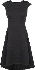 Sukienka DKNY z okrągłym dekoltem