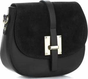 b29da85db0166 małe czarne torebki skórzane - stylowo i modnie z Allani