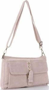 Różowa torebka VITTORIA GOTTI w stylu casual