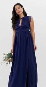 Granatowa sukienka Tfnc Maternity