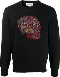 Bluza Alexander McQueen w młodzieżowym stylu z nadrukiem