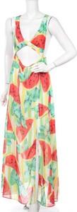 Sukienka Jaded London z dekoltem w kształcie litery v bez rękawów maxi