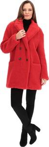 Czerwony płaszcz Rino & Pelle w stylu casual