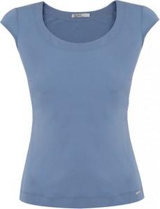 Niebieska bluzka POTIS & VERSO z tkaniny
