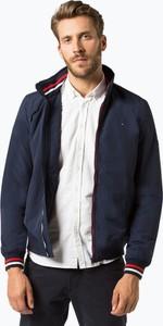 Niebieska kurtka Tommy Jeans w stylu casual z jeansu