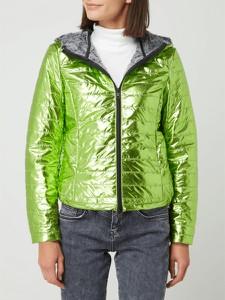 Zielona kurtka Freaky Nation krótka w stylu casual
