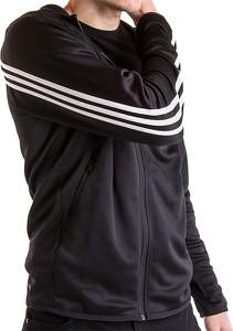 Czarna bluza Adidas z dzianiny