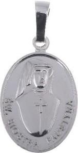 producent niezdefiniowany M105 Medalik srebrny - Święta Siostra Faustyna