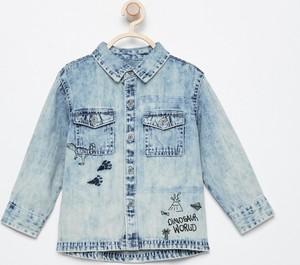 Koszula dziecięca Reserved z jeansu dla chłopców