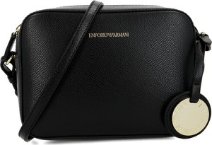 Czarna torebka Emporio Armani na ramię