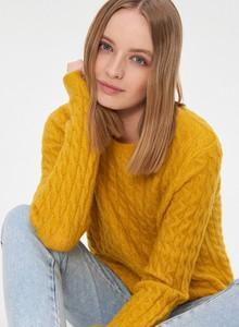 Żółty sweter House