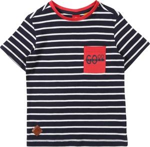 Koszulka dziecięca S.Oliver z dżerseju z krótkim rękawem w paseczki