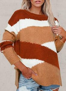 Sweter Cikelly z dzianiny w stylu casual