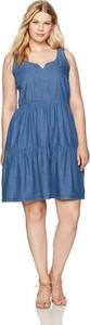 Sukienka Junarose na ramiączkach mini z bawełny