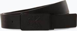 Brązowy pasek Calvin Klein