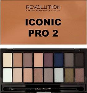 Makeup Revolution, Salvation Palette 16, cienie do powiek, Iconic Pro 2, 16 kolorów, 16 g