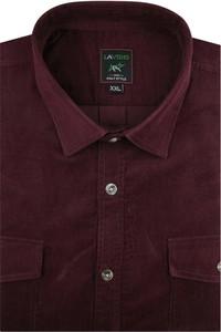Koszula Laviino ze sztruksu z długim rękawem