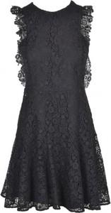 Sukienka Pinko rozkloszowana z okrągłym dekoltem mini