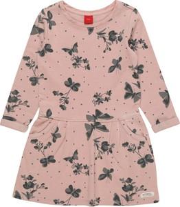 Różowa sukienka dziewczęca S.Oliver