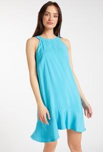 Niebieska sukienka Monnari mini bez rękawów