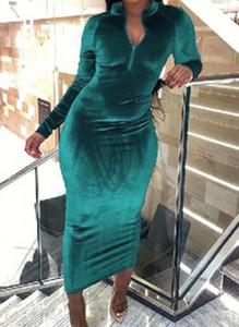 Sukienka Cikelly z długim rękawem ołówkowa