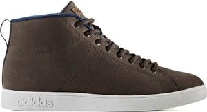 Adidas Originals Buty Advantage Clean Winter Mid Adidas (brązowe)