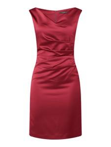 Sukienka Vera Mont bez rękawów z satyny mini