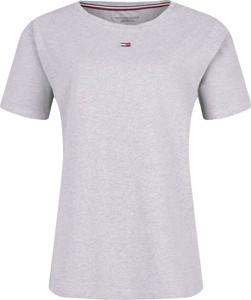 T-shirt Tommy Hilfiger w stylu casual z okrągłym dekoltem