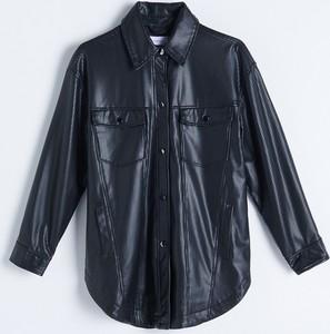 Czarna kurtka Reserved bez kaptura