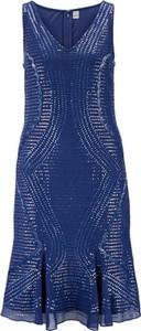 Sukienka Heine bez rękawów z dekoltem w kształcie litery v mini