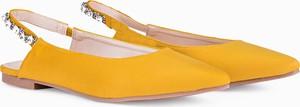 Żółte baleriny LaRica