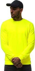 Żółta bluza ozonee.pl w stylu casual