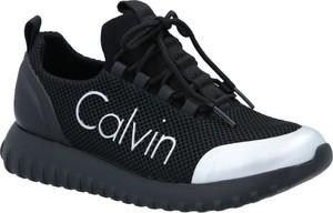 Sneakersy Calvin Klein na platformie