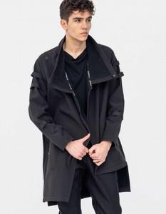 Płaszcz męski Synthetic 100%natural z tkaniny