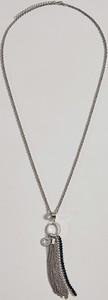 Mohito - Naszyjnik z łańcuszkowym chwostem - Srebrny
