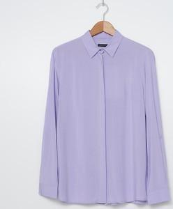 Fioletowa bluzka House z długim rękawem
