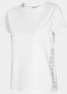 Bluzka 4F z okrągłym dekoltem z krótkim rękawem