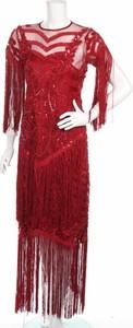 Czerwona sukienka Starry Eyed maxi