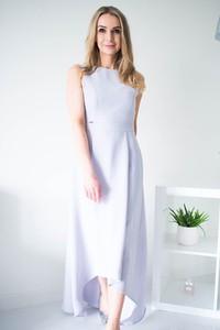 Sukienka Jersa z okrągłym dekoltem